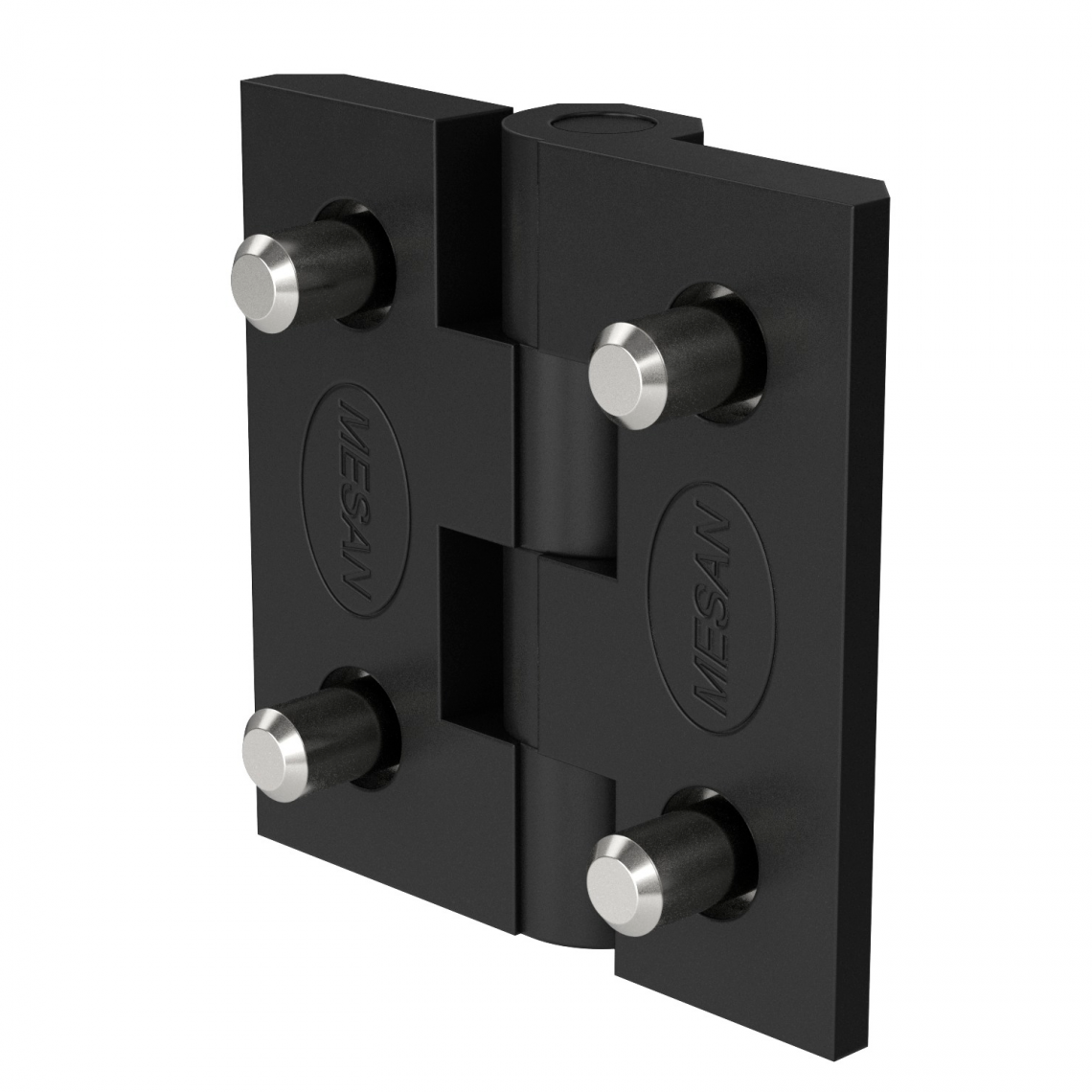 50mm Polyamide lead hinge rear view